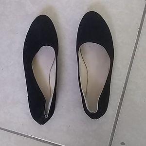Black dress shoes size 6 1/2